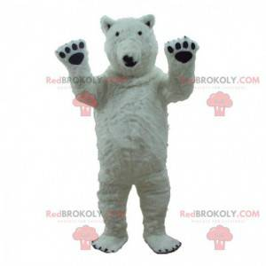 Isbjørn maskot, kæmpe isbjørn kostume - Redbrokoly.com