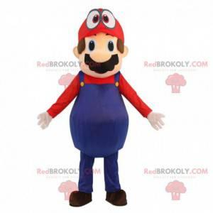 Mascot Mario, de beroemde loodgieter van het videospel -