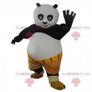 Mascot Po Ping, the famous panda in Kung fu panda -
