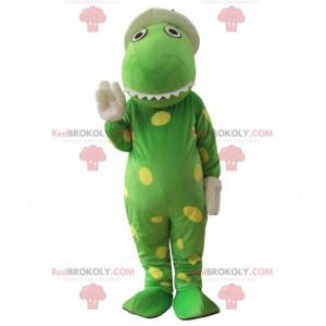 Mascot Dorothy, famous dinosaur from the song of the Wiggles -
