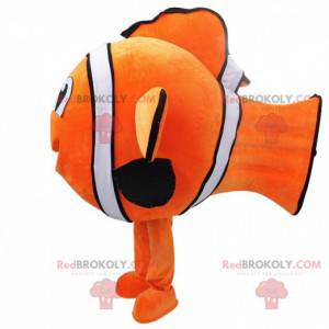 Nemo maskot. Clownfish maskot. Fisk cosplay - Redbrokoly.com