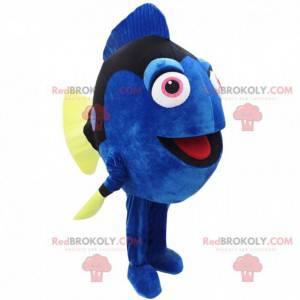 Mascote Dory, o peixe-cirurgião do desenho animado Nemo -