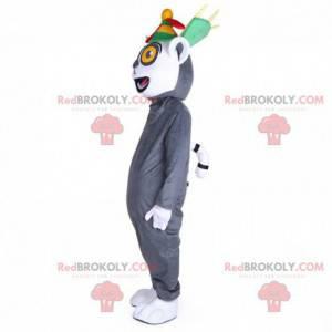 Mascote lêmure do filme de animação Madagascar - Redbrokoly.com