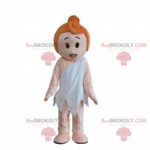 Mascot Wilma, personaje famoso de la familia Flintstones -