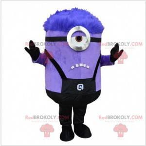 Mimoni, fialový maskot, ošklivý a ošklivý - Redbrokoly.com