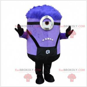 Minions paarse mascotte van mij, lelijk en smerig -