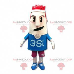 Sportman mascotte - Redbrokoly.com