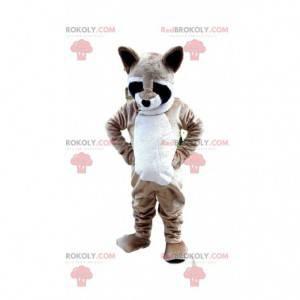Mascotte di procione, costume da puzzola, animale della foresta
