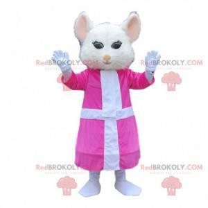 Mascote do rato em Alice no país das maravilhas - Redbrokoly.com