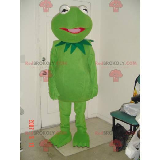 Maskottchen des berühmten grünen Frosches Kermit -
