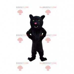 Mascotte pantera nera, costume felino gigante - Redbrokoly.com
