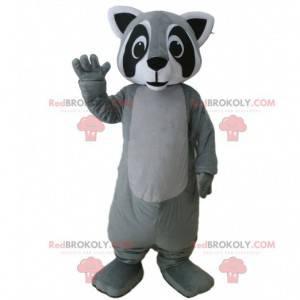 Raccoon mascot, polecat costume, forest animal - Redbrokoly.com