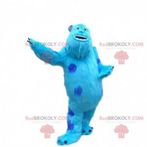 Mascot Sully, het beroemde blauwe monster in Monsters, Inc. -