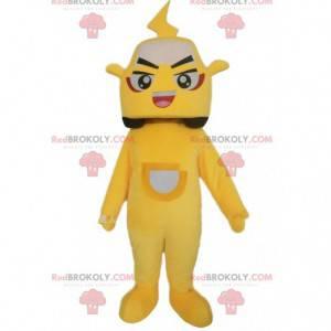 Yellow car mascot, automobile costume - Redbrokoly.com