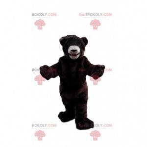 Mascota del oso de peluche, disfraz de oso de peluche -