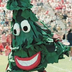 Giant green fir mascot - Redbrokoly.com