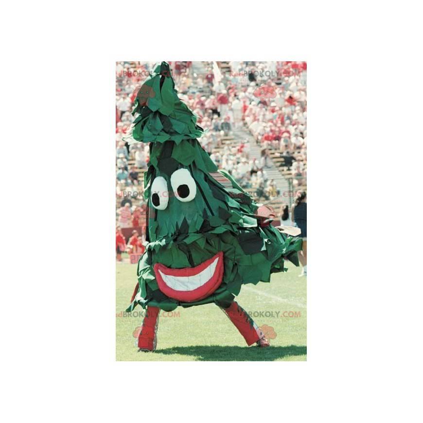Obří zelená jedle maskot - Redbrokoly.com