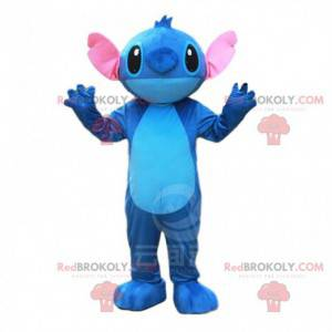 Stitch mascot, the famous alien from Lilo and Stitch -