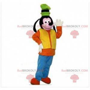 Mascota de Goofy, personaje famoso de Walt Dsiney -