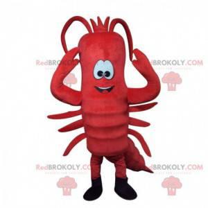 Maskot obří červený humr, kostým humra - Redbrokoly.com