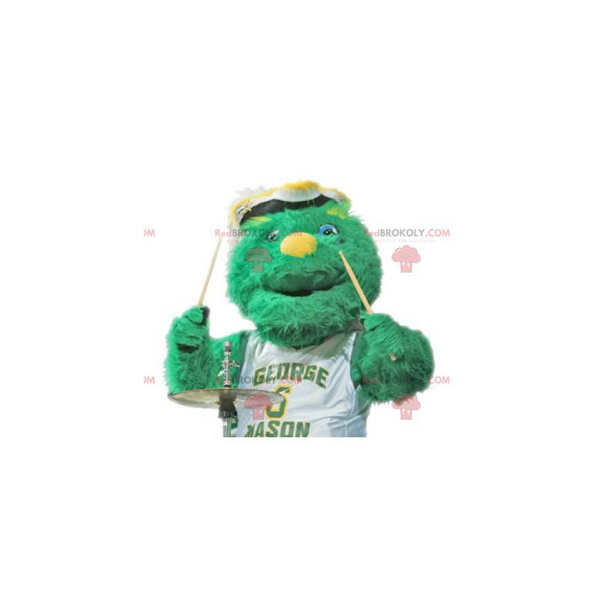 Všechny maskot zelené chlupaté monstrum - Redbrokoly.com