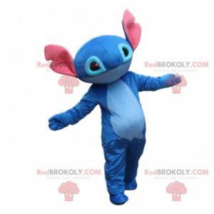 Kostüm von Stitch, dem berühmten Alien von Lilo und Stitch -