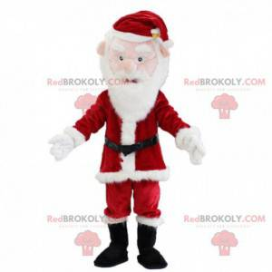 Mascota de Santa Claus, traje de Navidad, traje de invierno -