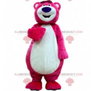Mascote Lotso, o malvado urso rosa em Toy Story 3 -