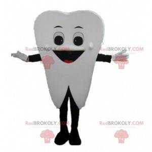 Kæmpe hvid tand maskot, tand kostume - Redbrokoly.com