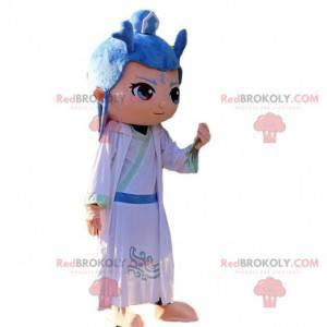 Ao Bing-mascotte in de Chinese animatiefilm Nezha -