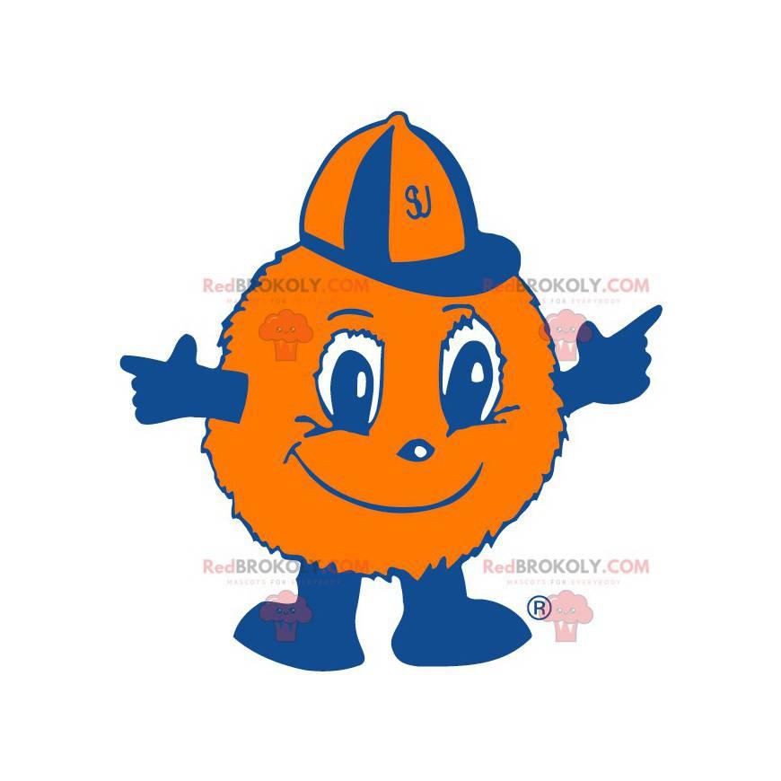 Ballon orange Fellkugel Maskottchen - Redbrokoly.com