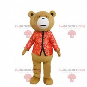 Mascote do ursinho de pelúcia do filme de mesmo nome, fantasia