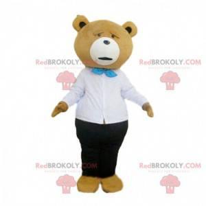 Mascote do famoso Ted no filme de mesmo nome, fantasia de urso