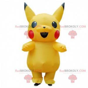 Pikachu maskot, den berømte gule manga Pokémon - Redbrokoly.com