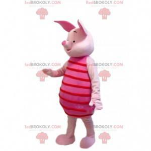 Mascot Piglet, den berømte lyserøde gris i Winnie the Pooh -