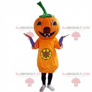 Mascota de calabaza gigante, disfraz de Halloween -