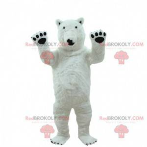 Kæmpe isbjørn kostume, isbjørn maskot - Redbrokoly.com