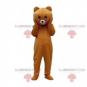 Costume da orsacchiotto di peluche completamente