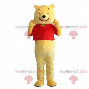 Fantasia de Winnie the Pooh, famoso urso de desenho animado -