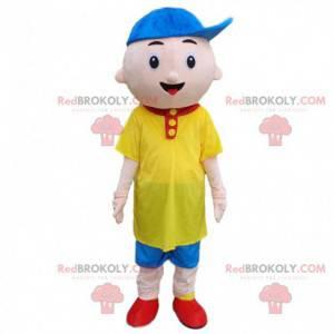 Kostým malého chlapce, barevný dětský kostým - Redbrokoly.com