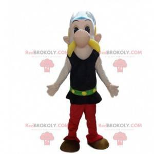 Disfarce de Asterix, famoso gaulês em Asterix e Obelix -