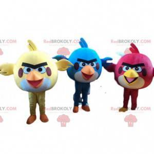 3 Angry Birds Kostüme, Angry Birds Maskottchen - Redbrokoly.com