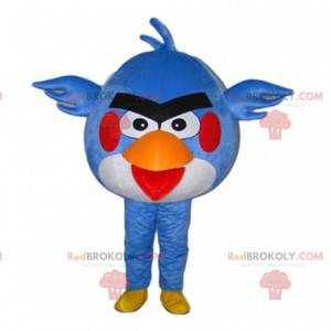 Fantasia de pássaro irritado, mascote azul de Angry Birds -