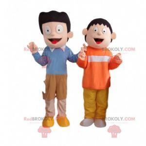 2 kostýmy televizních seriálů, maskoti Doraemon - Redbrokoly.com