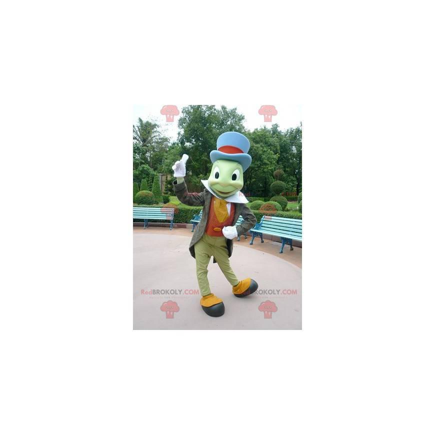Maskot Jiminy Kriket slavný hmyz v Pinocchio - Redbrokoly.com
