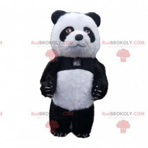 Oppustelig panda kostume, kæmpe bamse kostume - Redbrokoly.com