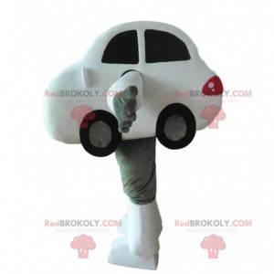Disfraz de coche blanco, disfraz de automovil - Redbrokoly.com