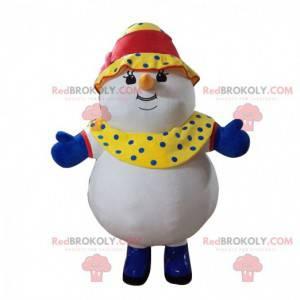 Opblaasbaar sneeuwpop kostuum, gigantisch kostuum -