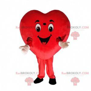 Disfraz de corazón rojo gigante, disfraz en forma de corazón -