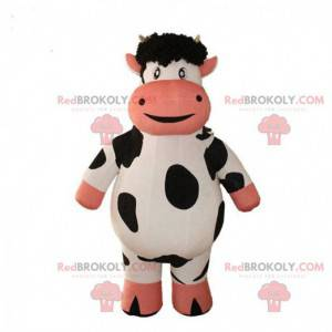 Inflatable cow mascot, giant cow costume - Redbrokoly.com